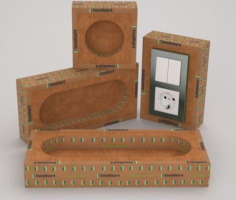 Короб SoundGuard IzoBox 1 Для одного подразетника