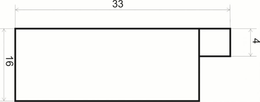 Дополнительные рамочные профили №33